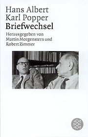 Albert / Popper, Briefwechsel